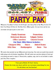BBQ, Barbecue, catering, restaurant, Gaffney, SC, I-85